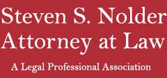 Steven S. Nolder, Attorney at Law Logo